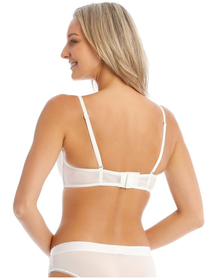 Ayla Double-Boost Wirefree Bra in White image 2