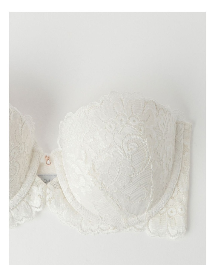 Lace Strapless Contour Bra image 3