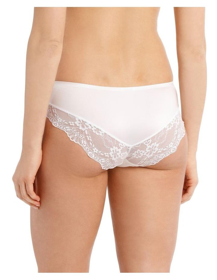 Lace Comfort Boyleg Brief - White image 2