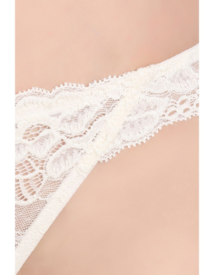 'OMB' Lace Thong P37-4053F image 5