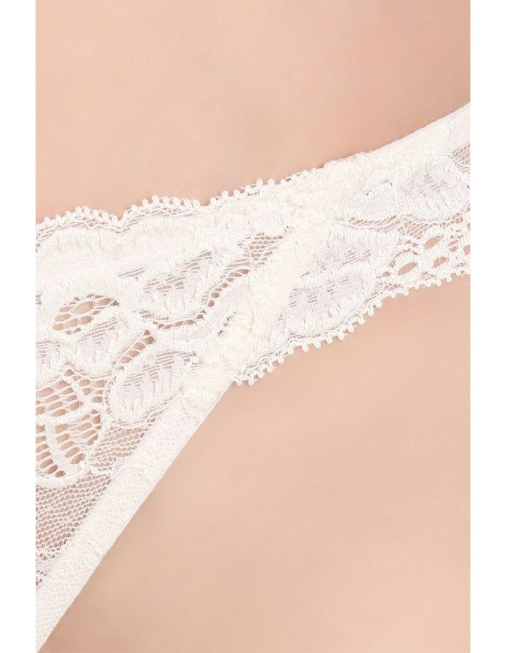 'OMB' Lace Thong P37-4053F image 4