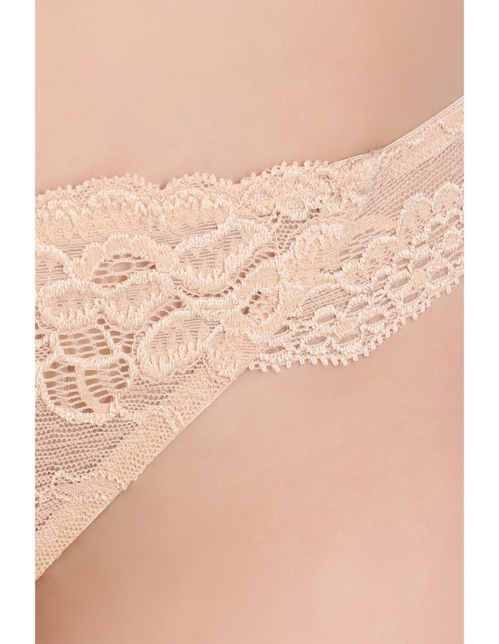 'OMB' Lace Thong P37-4053F image 6