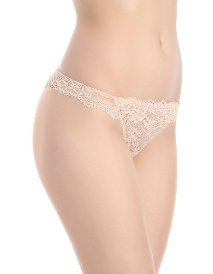 'OMB' Lace Thong P37-4053F image 3