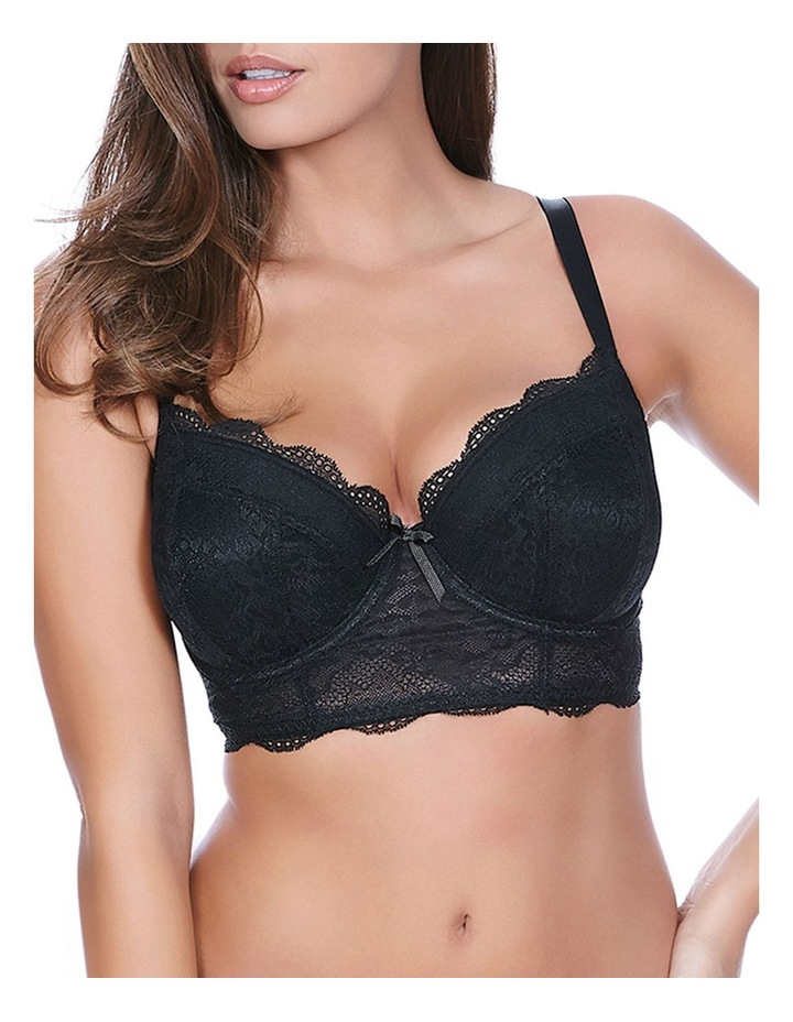 Fancies Padded Long Line Bra AA1014 image 1