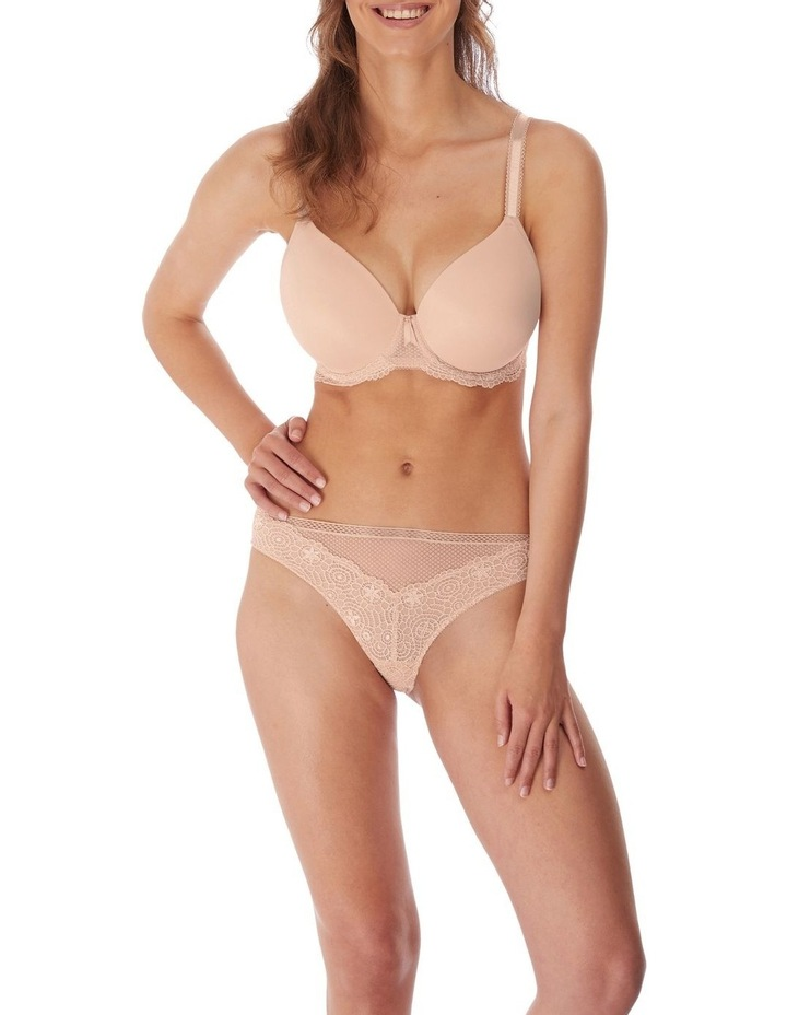 Under Wire Demi Plunge Moulded Bra image 1