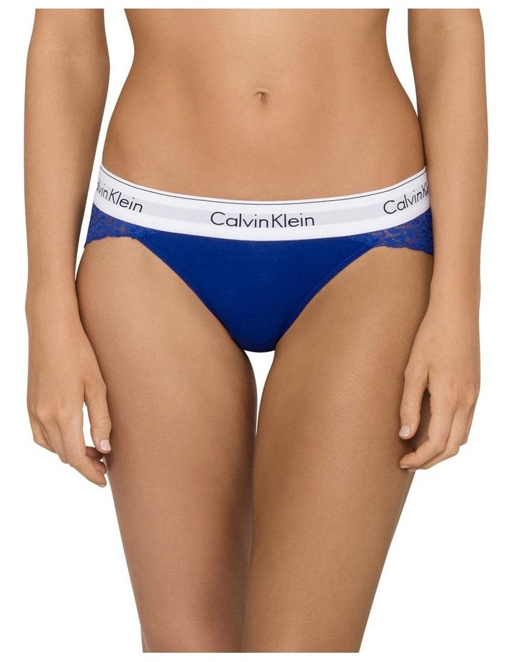 Modern Cotton w Lace Bikini QF4584 image 1