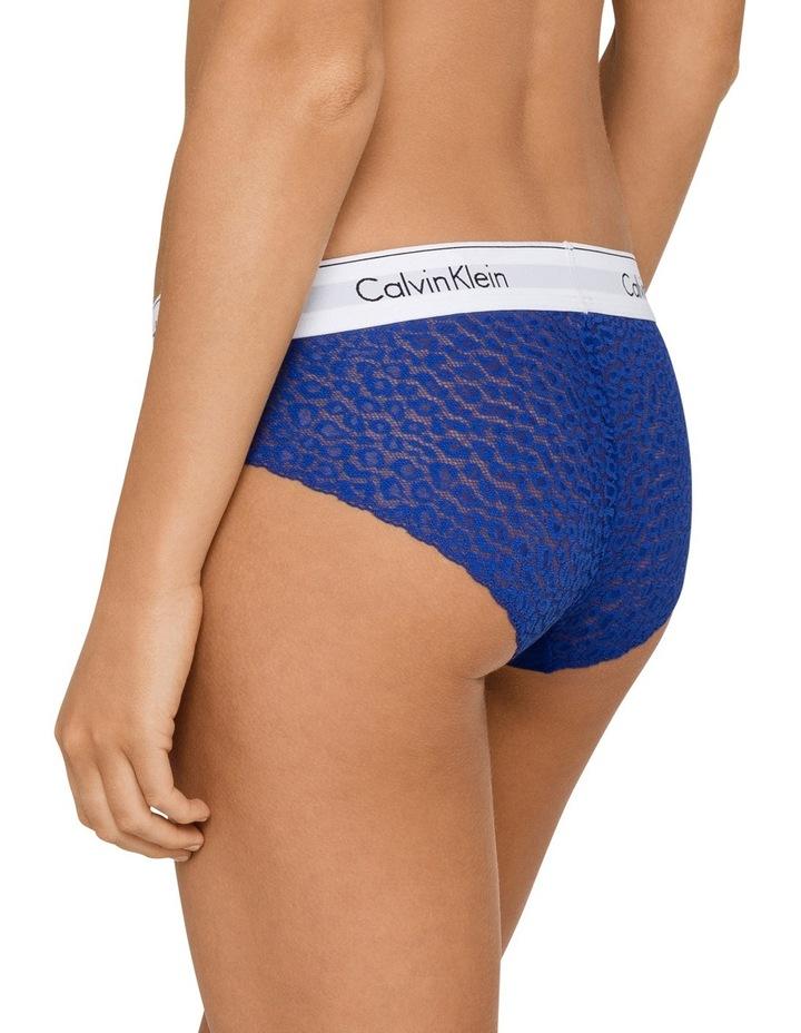 Modern Cotton w Lace Bikini QF4584 image 2
