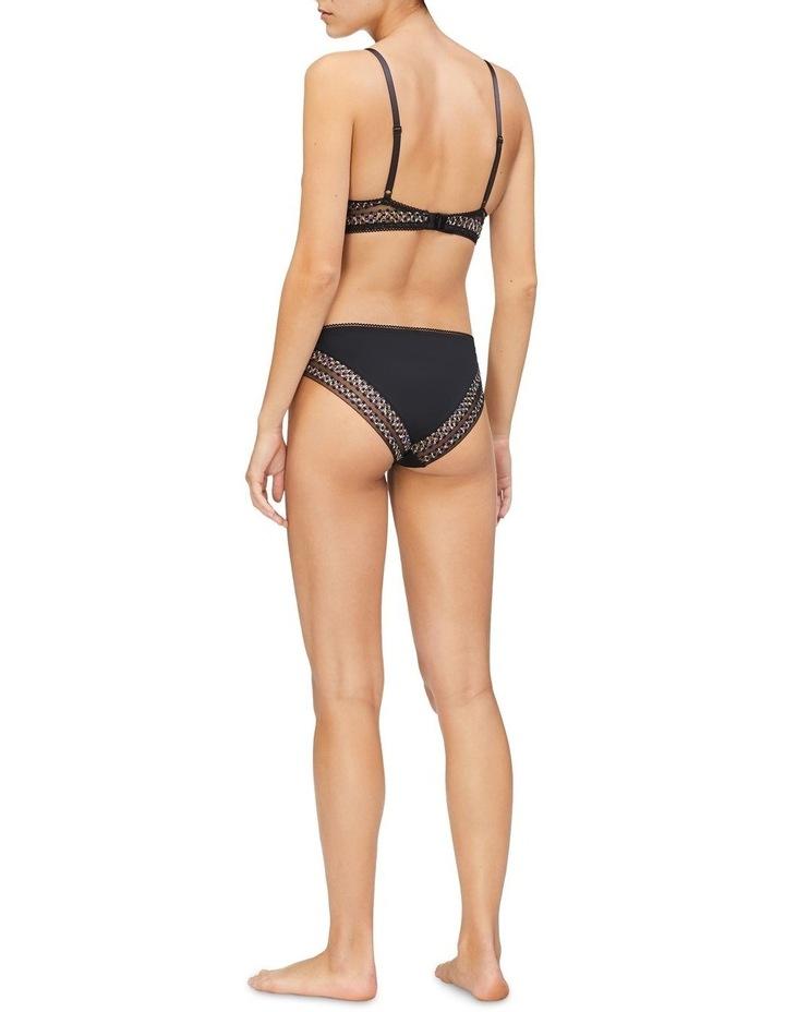 Fashion Stripe Lace Demi Lift Bra image 2