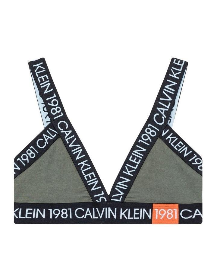 Calvin Klein 1981 Cotton Triangle Bra QF5447 image 4