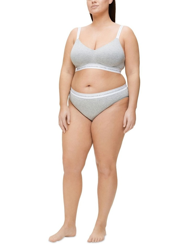 CK ONE Cotton Lightly Lined Plus Size Bralette image 1