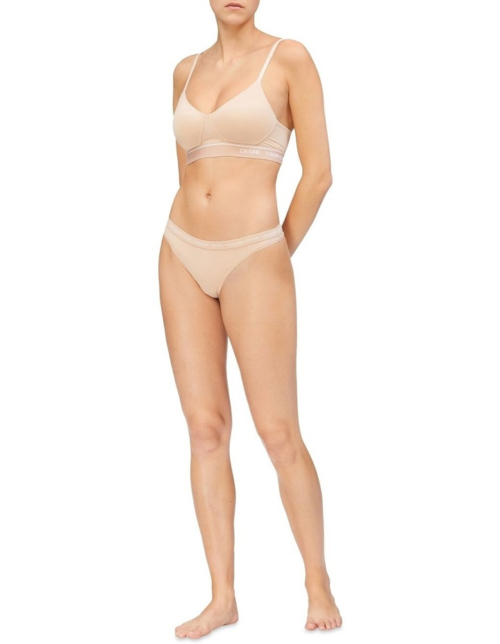 CK ONE MICRO LIGHTLY LINED BRALETTE (WIREFREE) image 2