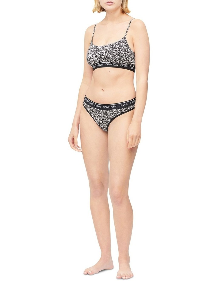 CK One Cotton Unlined Bralette image 2