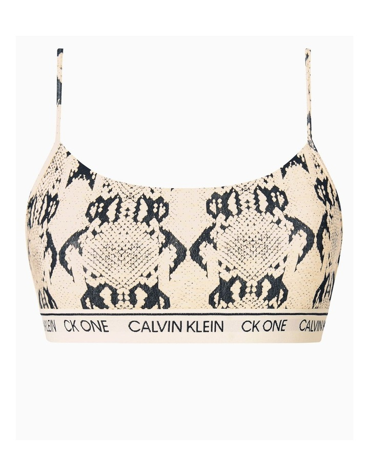 CK One Cotton Unlined Bralette image 4