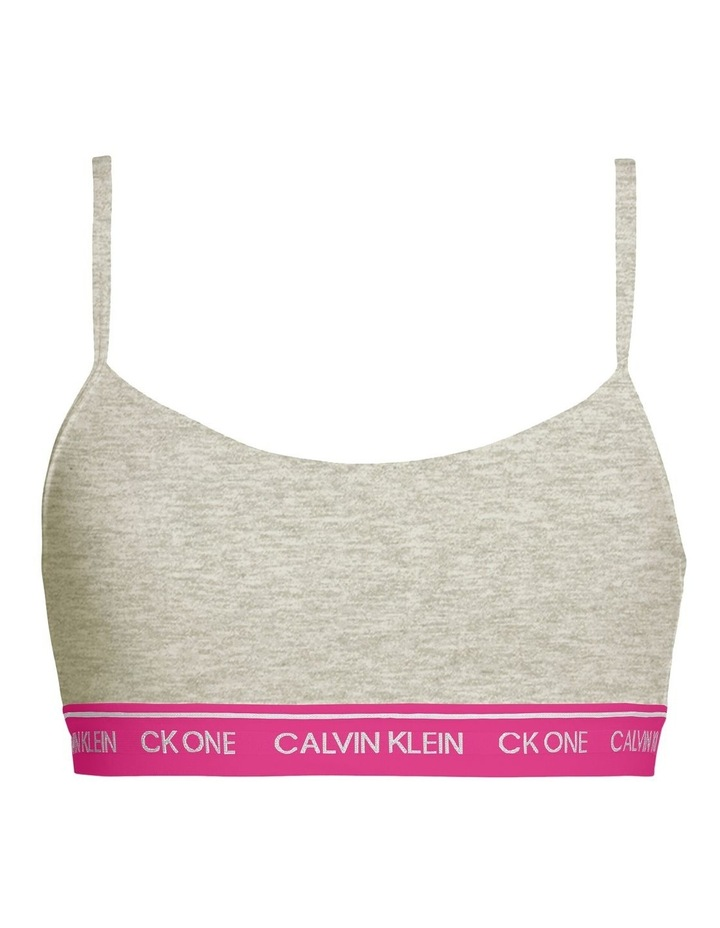 CK One Cotton String Bralette image 1