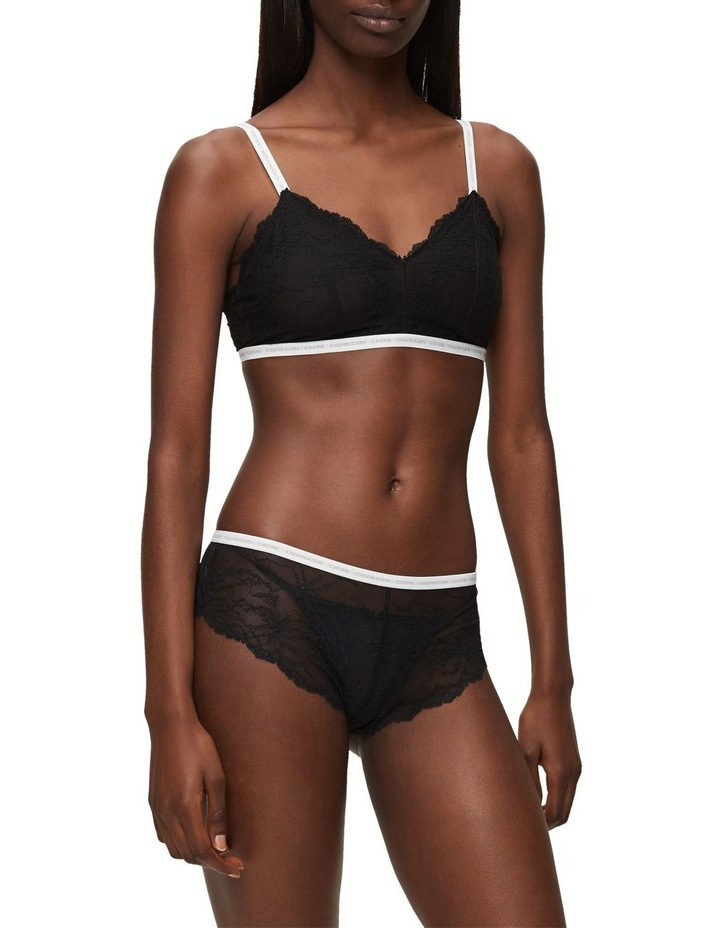 CK One Lace Unlined Triangle Bra image 1