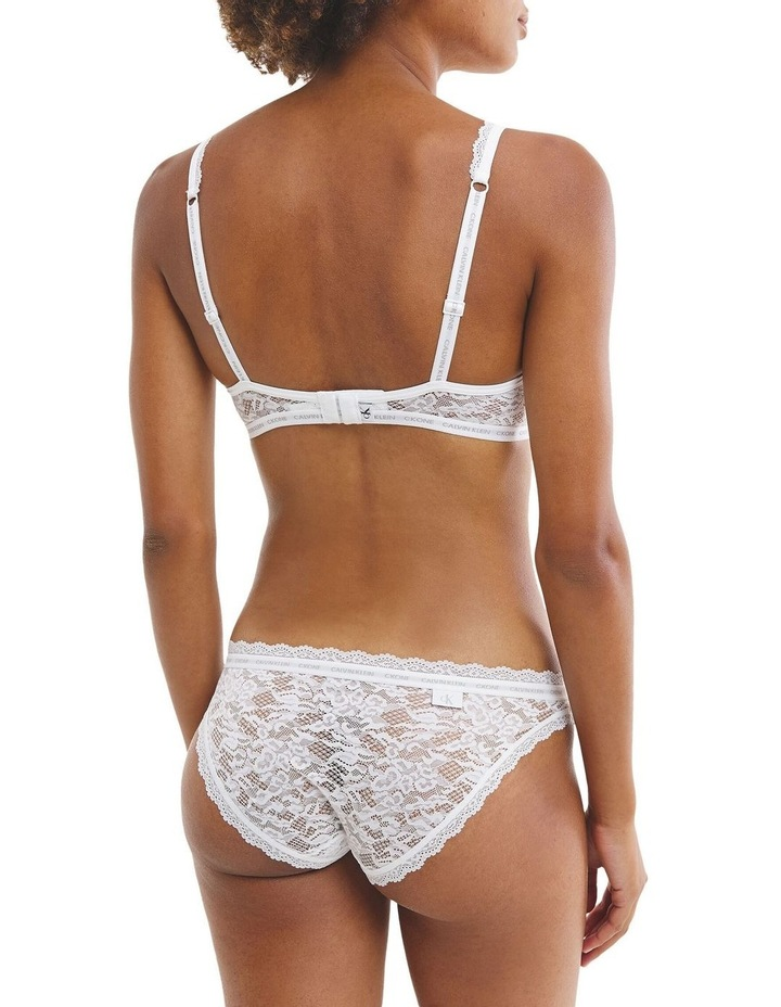CK One Lace Lightly Lined Triangle Bra image 2