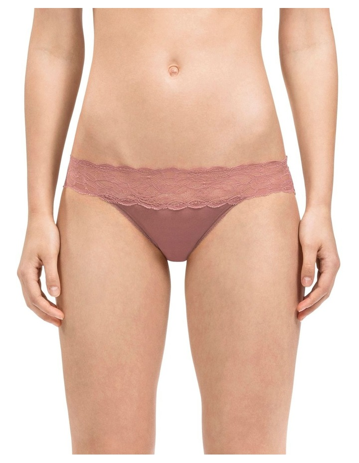 Seductive Comfort With Lace Bikini Brief QF1200 image 1
