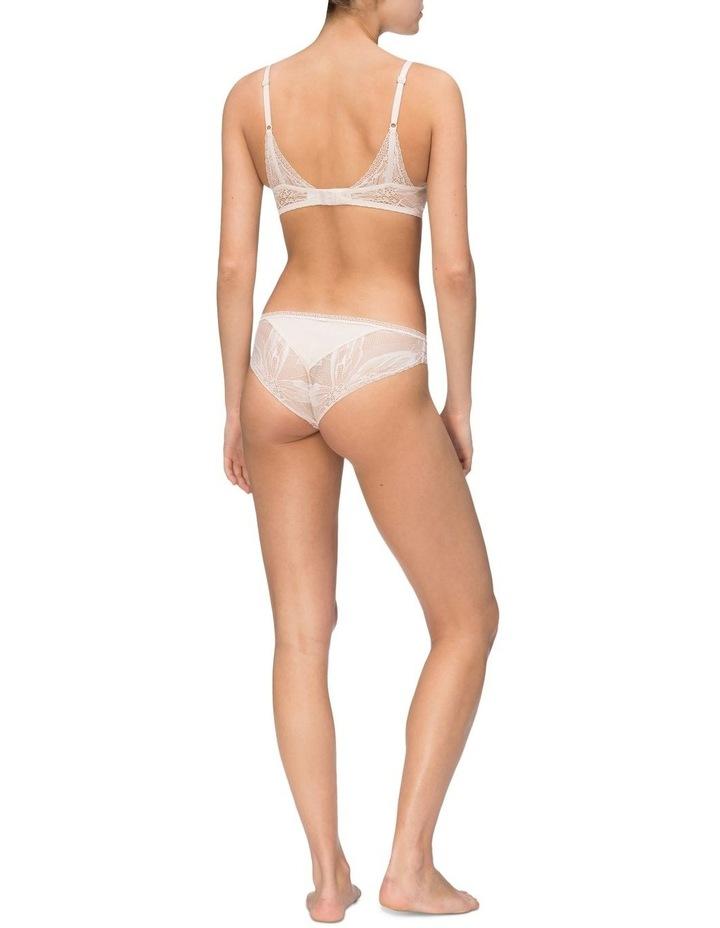 Black Petal Lace Bikini QF5367 image 2