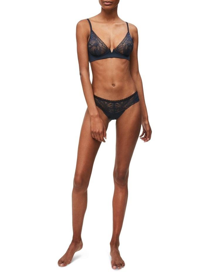 Black Petal Lace Bikini QF5367 image 1