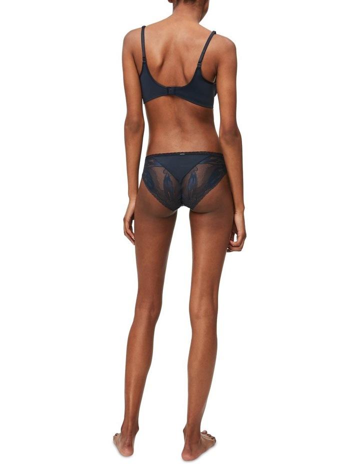 Black Petal Lace Bikini QF5367 image 3