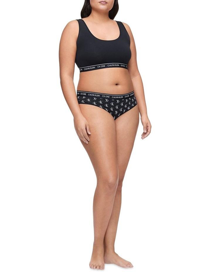 CK ONE Cotton Plus Size Bikini image 1