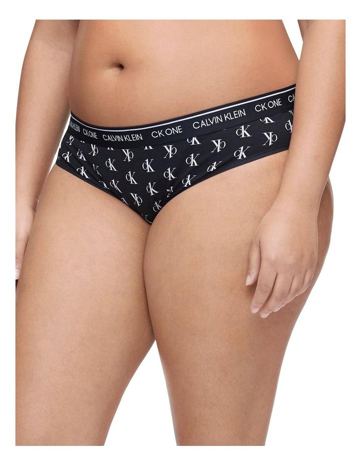 CK ONE Cotton Plus Size Bikini image 3