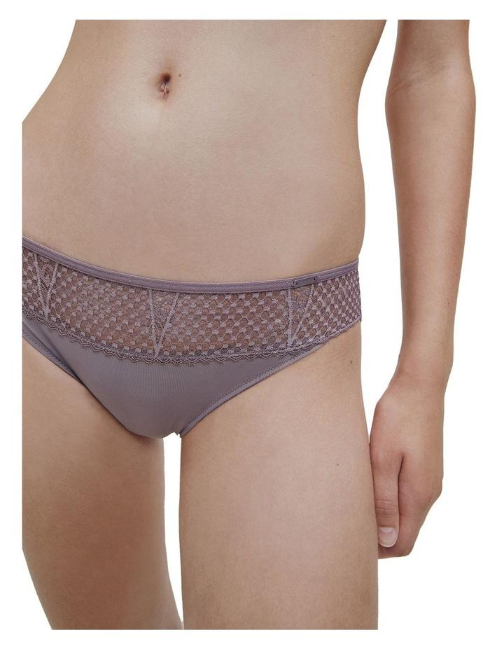 Triangle Lace Bikini Brief image 1