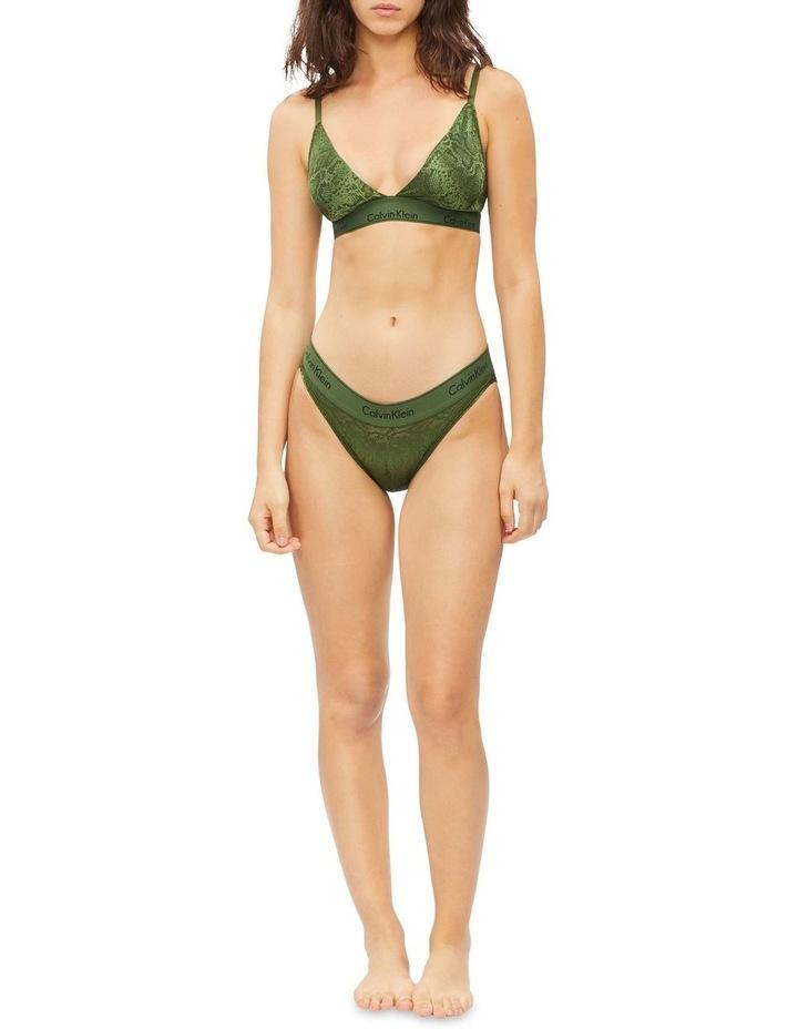 Modern Cotton Snakeskin Bikini Brief image 2