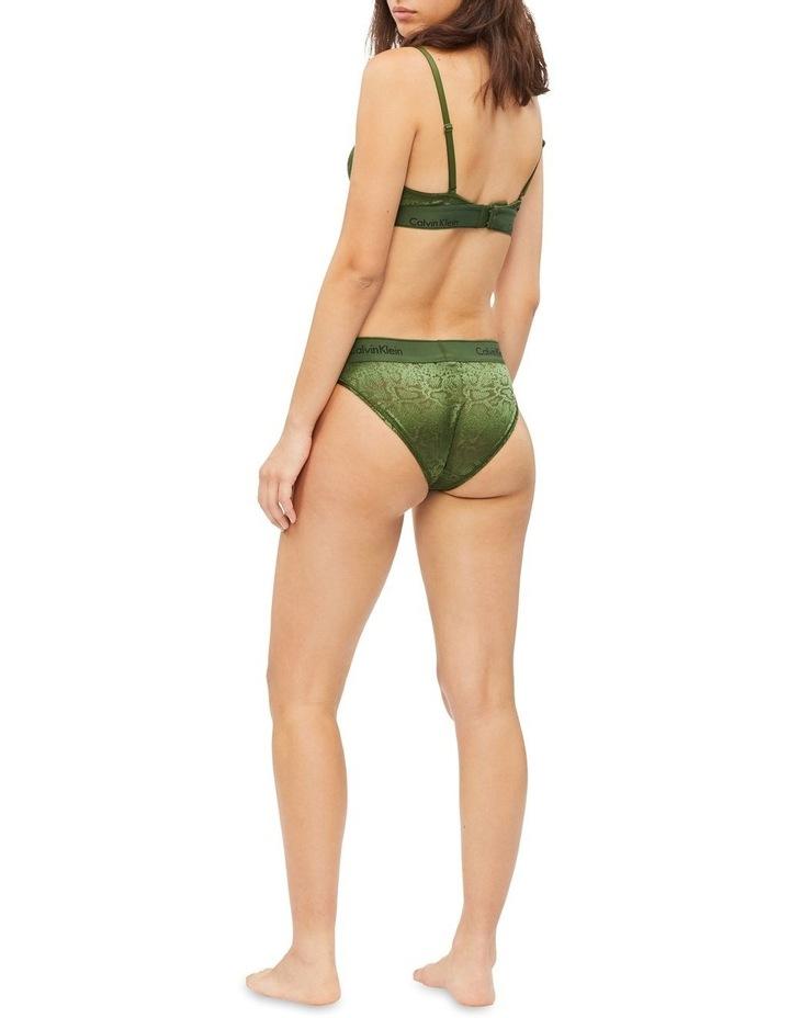 Modern Cotton Snakeskin Bikini Brief image 3