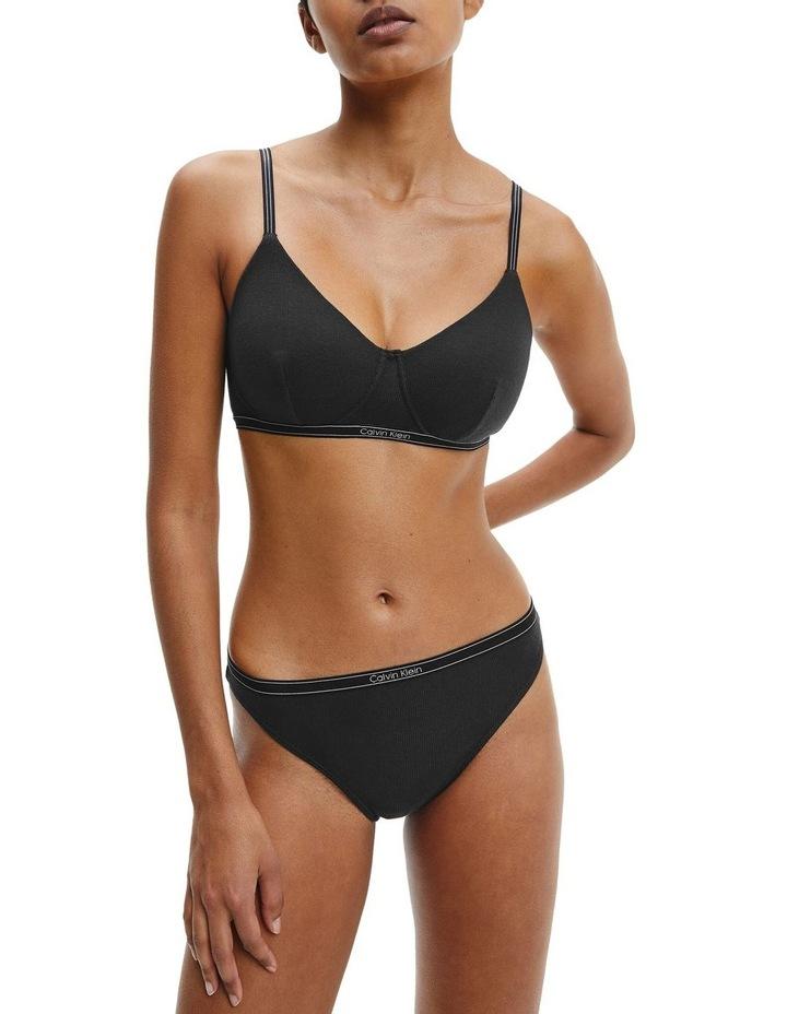 Pure Ribbed Bikini Brief image 1