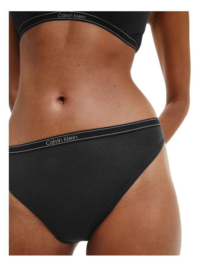 Pure Ribbed Bikini Brief image 3