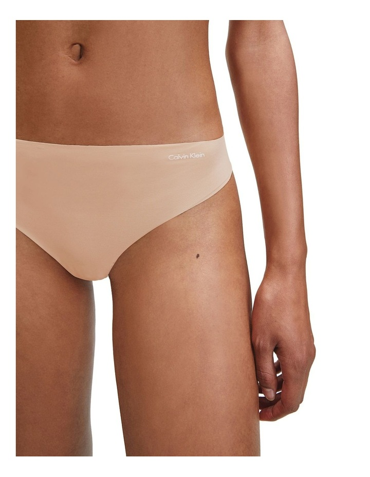 Invisibles Thong Light Camel image 3
