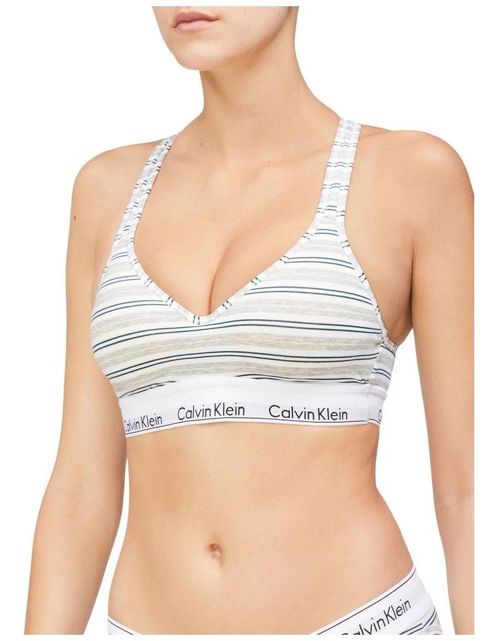 Modern Cotton Lightly Lined Bralette image 1