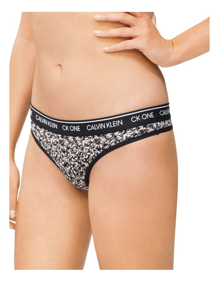 Cotton Thong Brief image 3