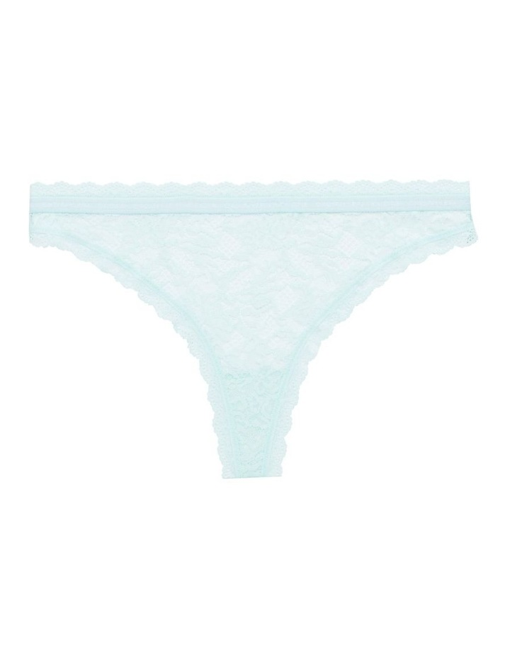 Lace Thong Brief image 4