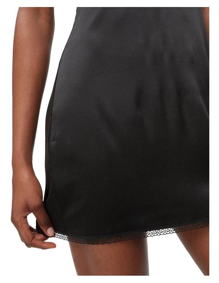 Calvin Klein Black Petal Lace Chemise QS6322 image 4