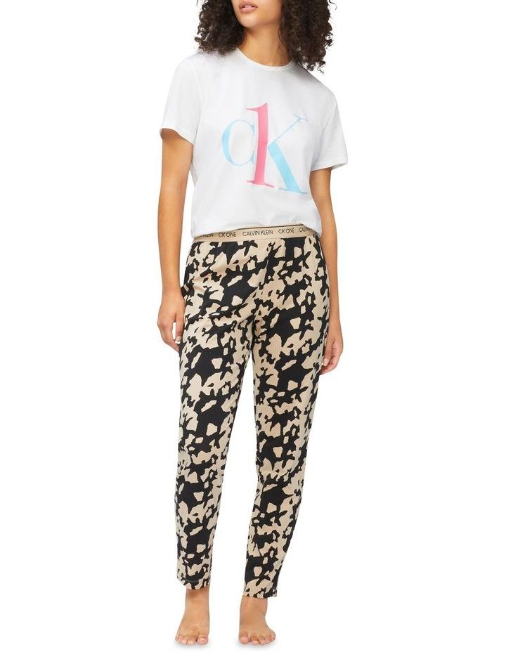 Slim Pyjama Pants image 1