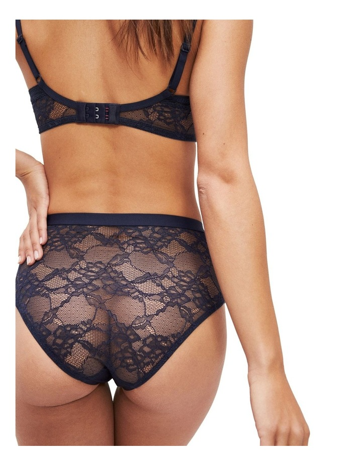 High Waist Lace Back Briefs image 2