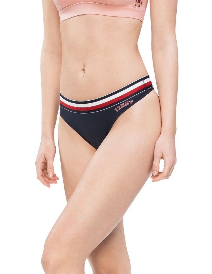 Modern Stripe Thong Brief image 1