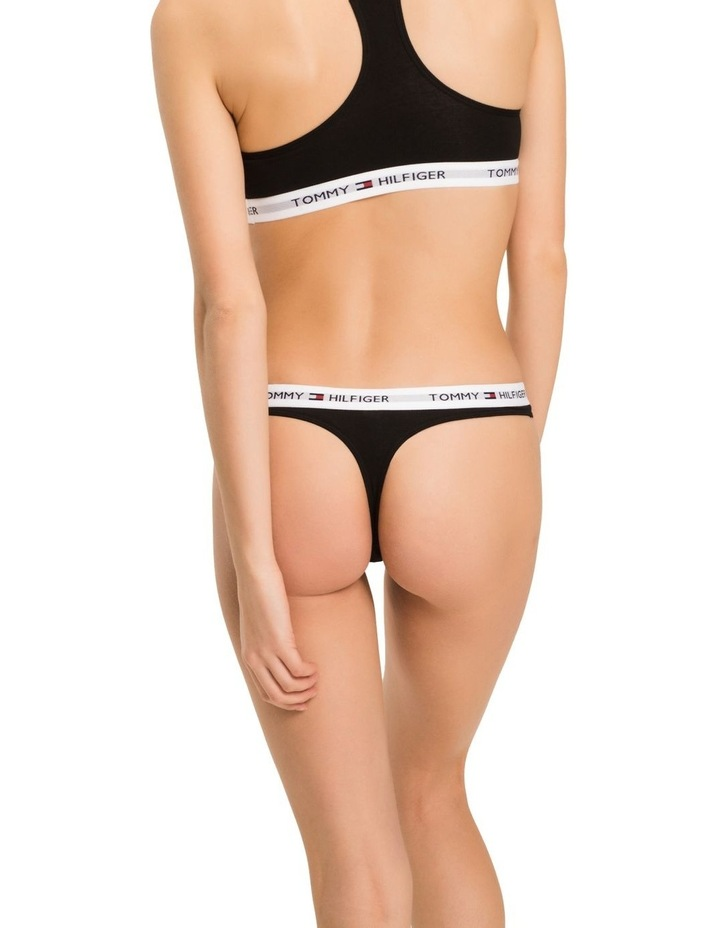 Cotton Iconic Thong Brief image 2