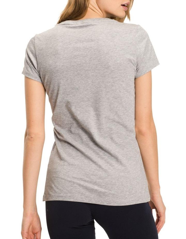 Tommy Hilfiger Cotton Iconic Logo Short Sleeve Tee image 2