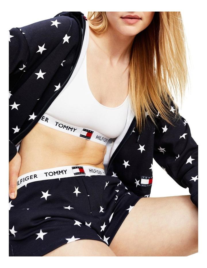 Star Print Track Shorts image 3