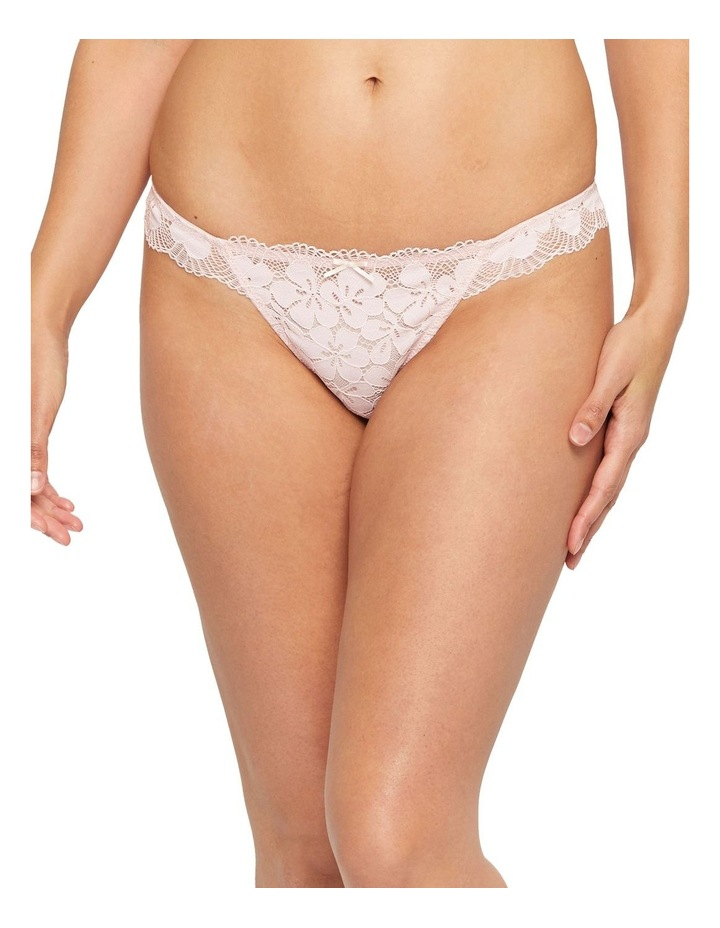 Delicate Floral Lace G-String Brief image 1