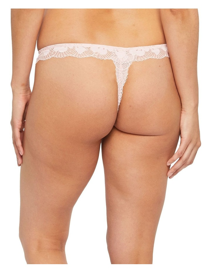 Delicate Floral Lace G-String Brief image 3
