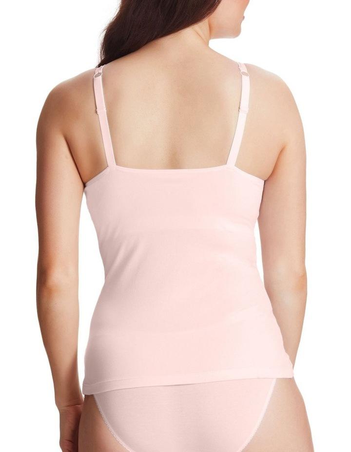 Next Level Cotton And Lace Shelf Cami image 3