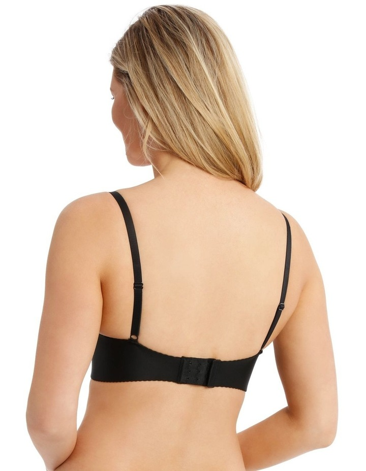 Smooth Full Coverage Bra - Black image 2
