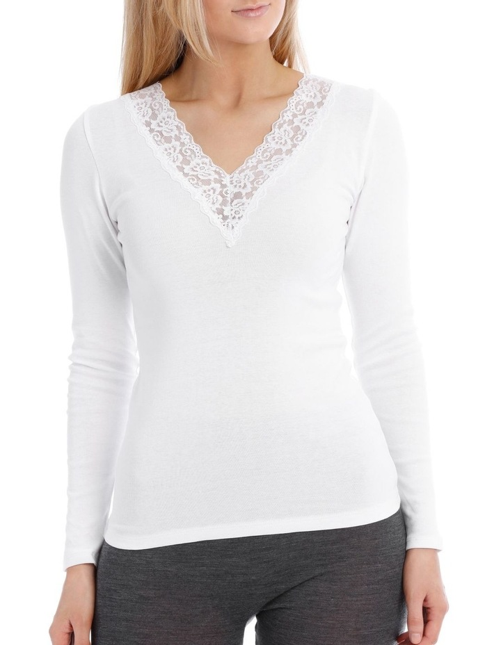 Thermals Organic Cotton Thermal Long Sleeve Top image 1