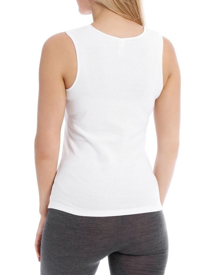 Thermals Organic Cotton Thermal Tank Top image 2