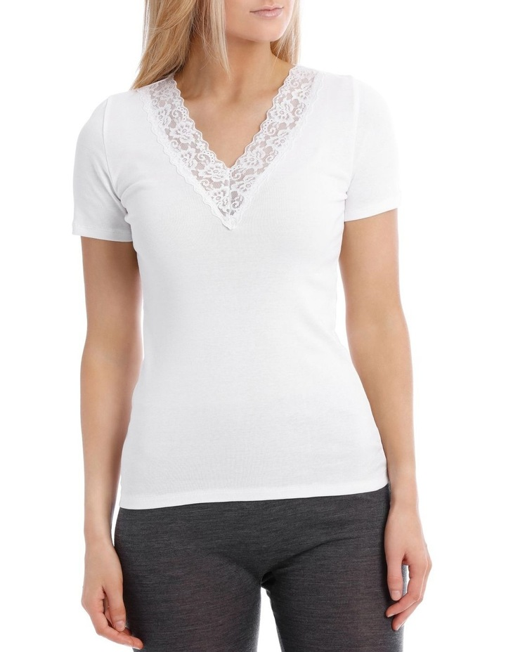 Thermals Organic Cotton Thermal Short Sleeve Top image 1