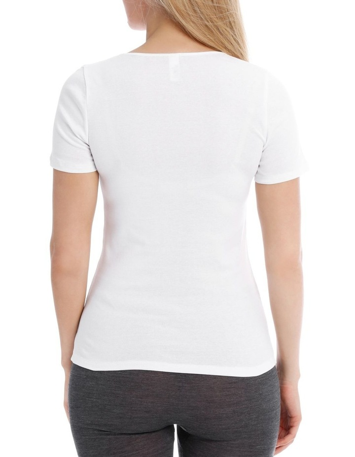 Thermals Organic Cotton Thermal Short Sleeve Top image 2